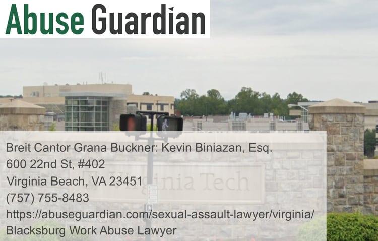 blacksburg work abuse lawyer near virginia tech