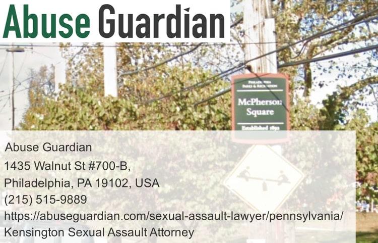 kensington sexual assault attorney near mcpherson square
