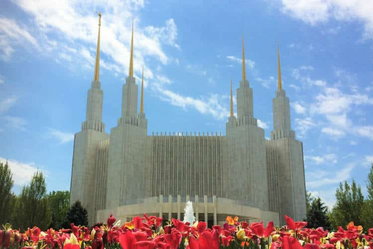 Mormon Temple In Maryland