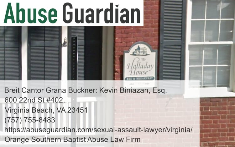 orange southern baptist abuse law firm near holladay house