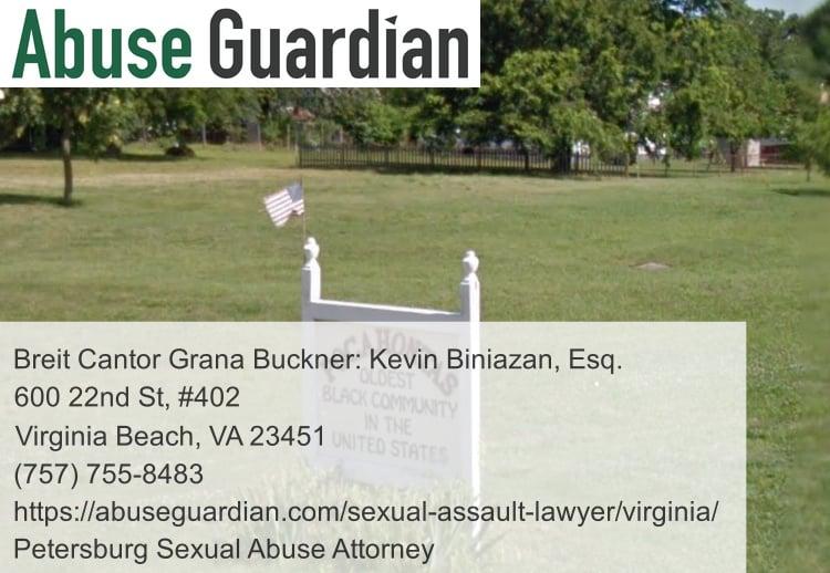 petersburg sexual abuse attorney near pocahontas island